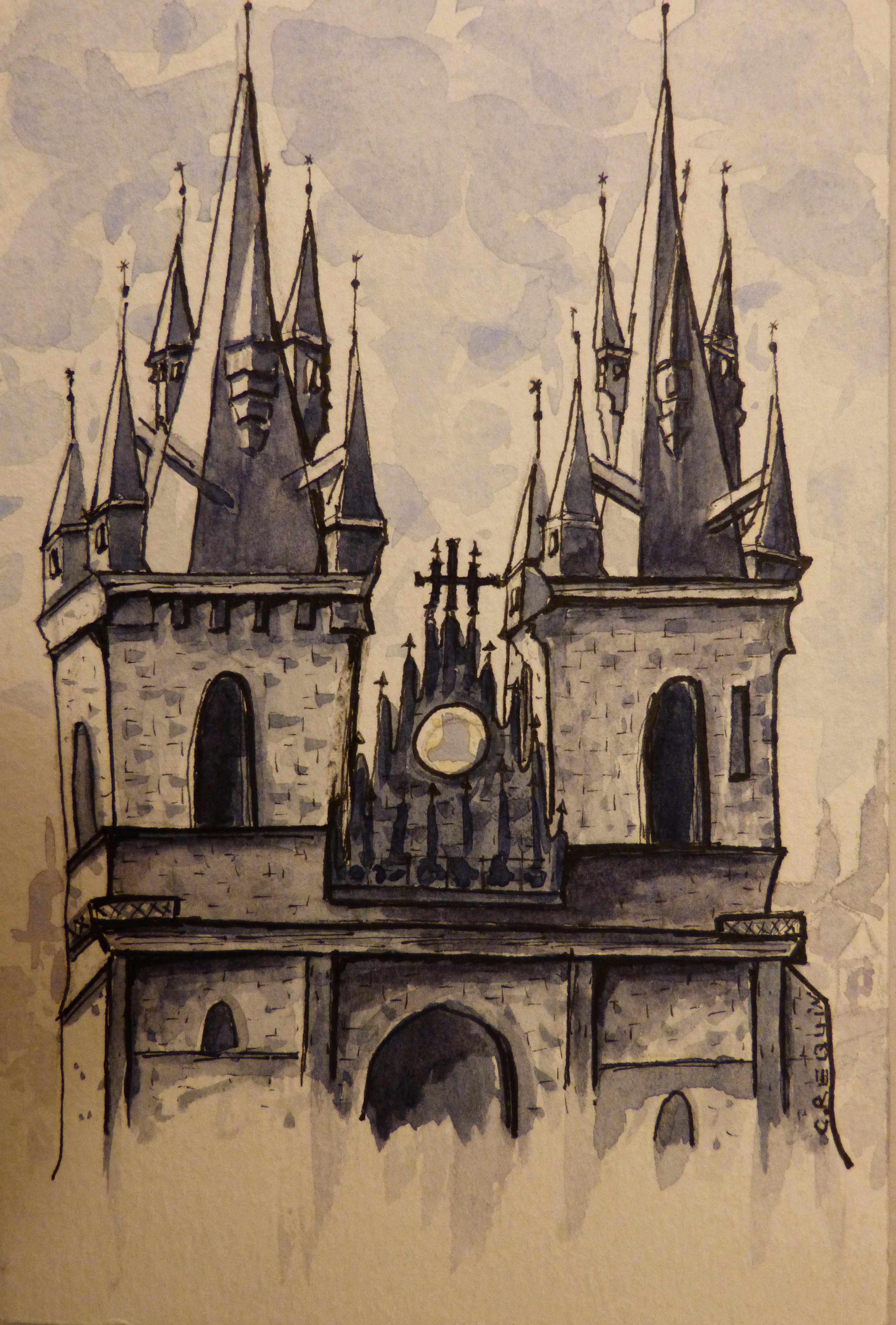 Notre-Dame de Tyn - Prague