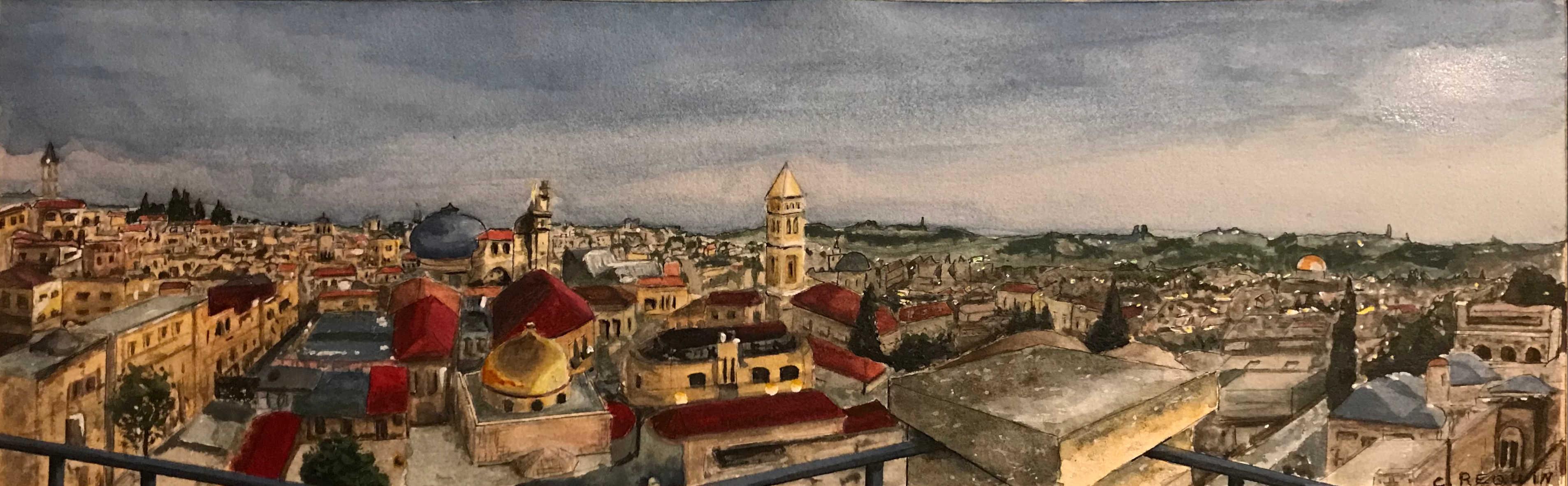 Panoramique de Jérusalem