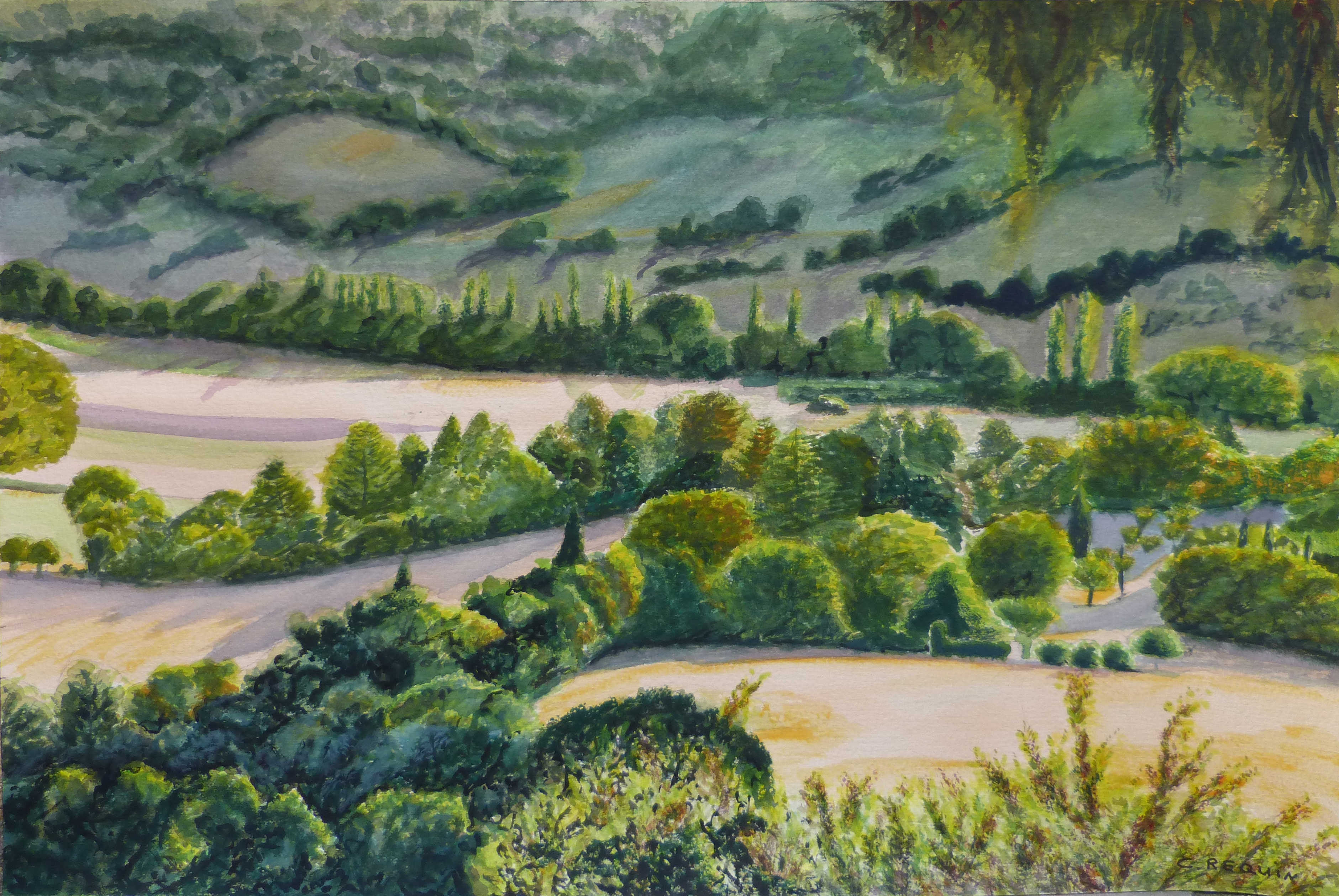 Allier-aquarellea