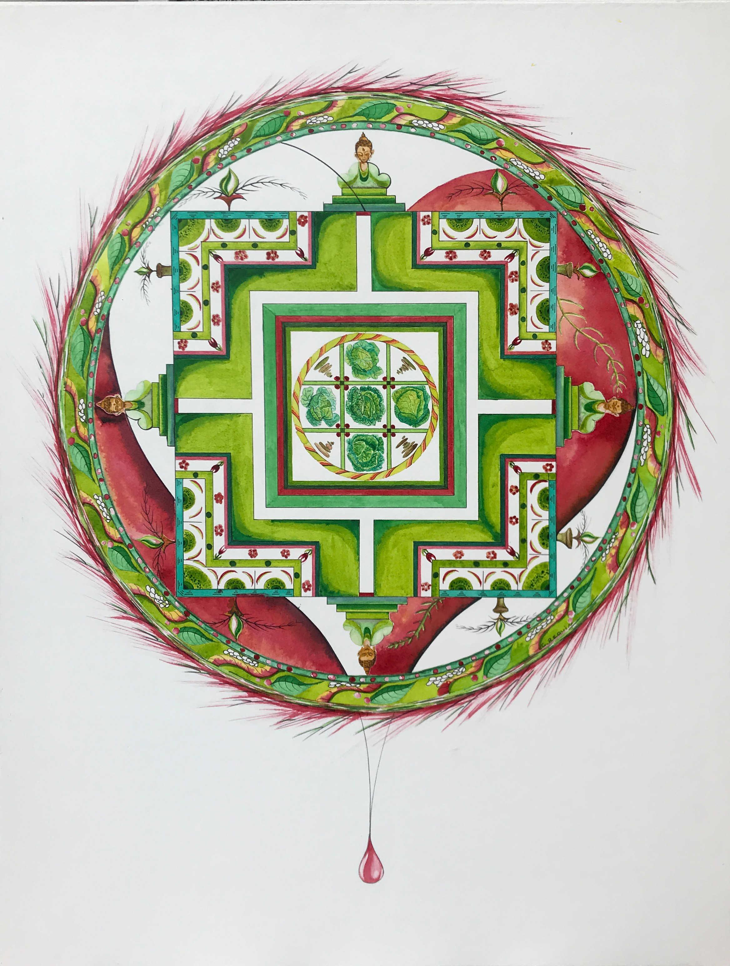Le mandala du coeur