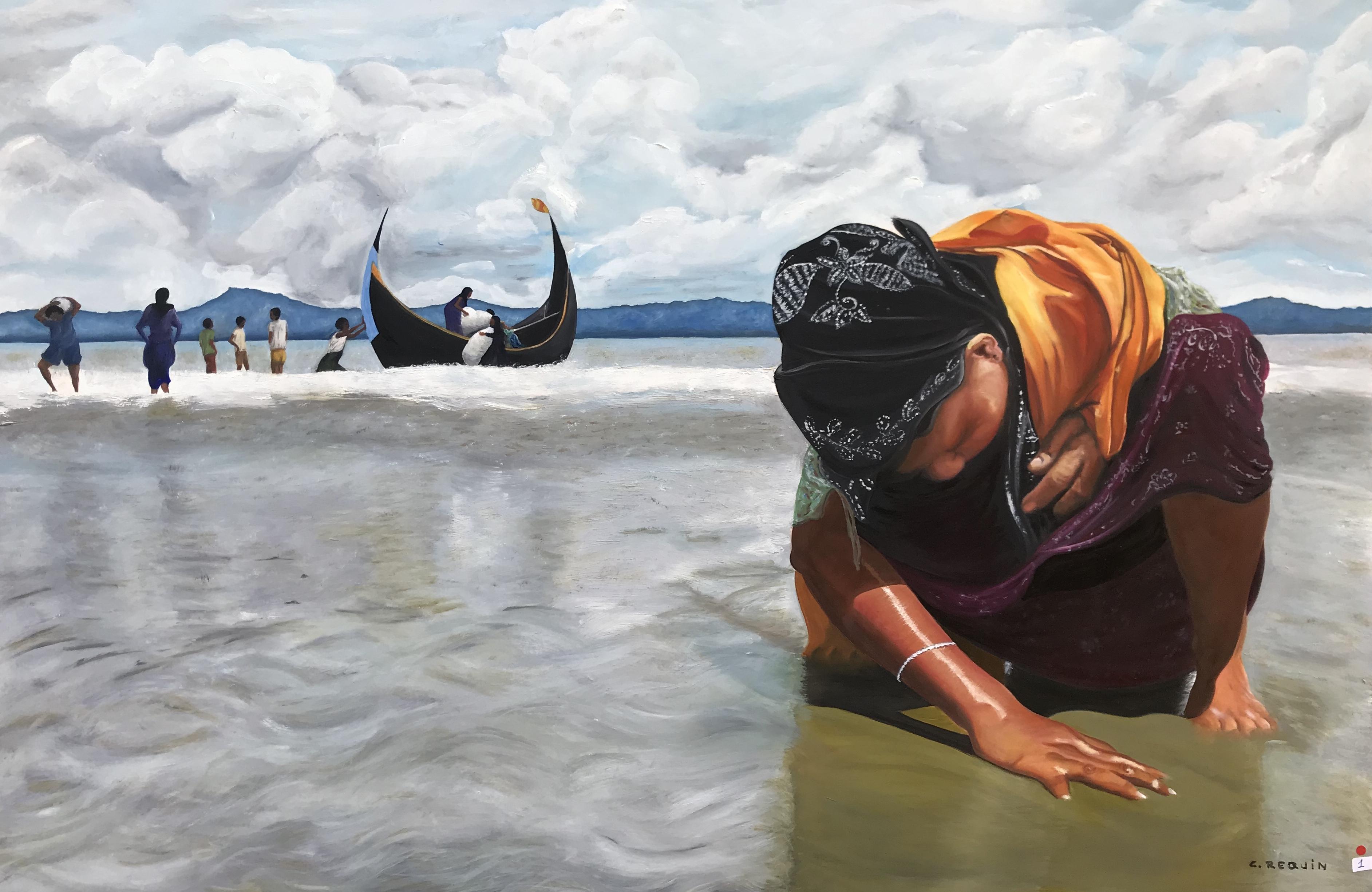 Réfugiée rohingyas birmane au Bengladesh