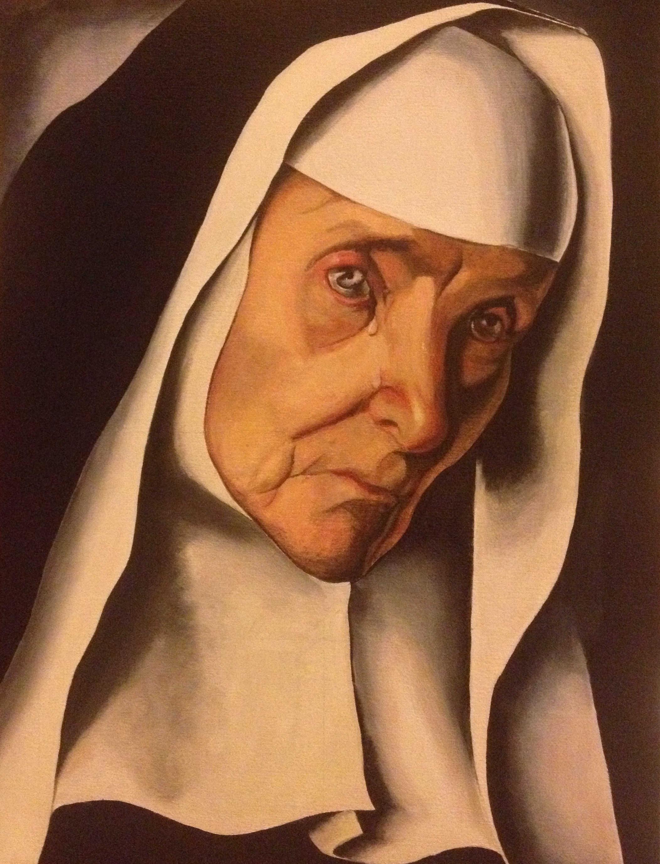La mère supérieure d'après Tamara de Lempika