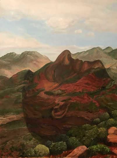 Les terres rouges du Maroc